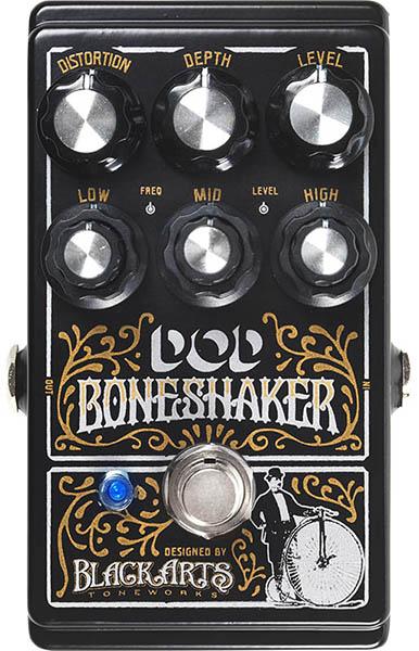 DOD Boneshaker [Distortion Pedal with 3-Band Parametric EQ]