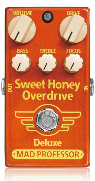 MAD PROFESSOR 《マッド・プロフェッサー》 New Sweet Honey Overdrive Deluxe