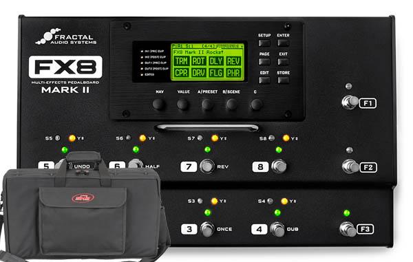 Fractal Audio Systems 《フラクタル》 FX8 MARK II【SKBセミハードケース・セット】