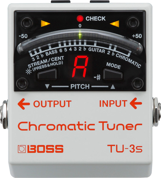 BOSS 《ボス》 TU-3S (Chromatic Tuner) 【期間限定★送料無料】 【ef_p5】