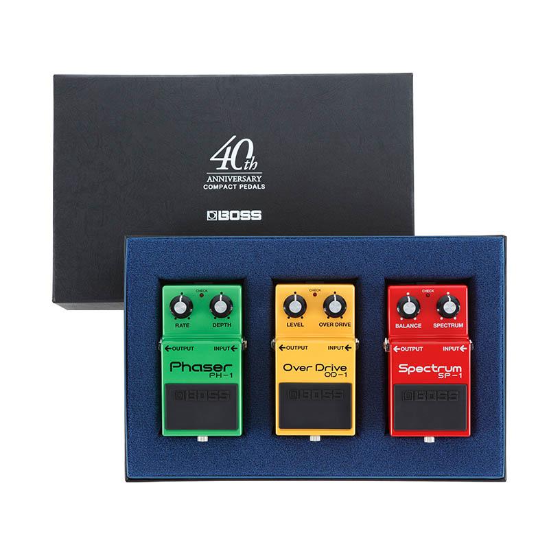 BOSS 《ボス》 BOX-40 [40TH ANNIVERSARY BOX SET] 【限定生産品・少数入荷!】【IKEBE×BOSSオリジナルデザインピックケースプレゼント】【ef_p10】, 守谷市:d9635276 --- fdc89.jp