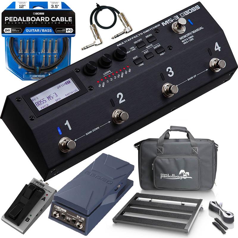 BOSS 《ボス》 MS-3 [Multi Effects Switcher]【MS-3システム6点セット・Palmerボードタイプ】