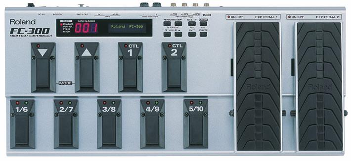 Roland 《ローランド》 FC-300 MIDI Foot Controller