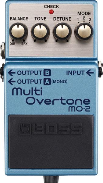 BOSS 《ボス》 MO-2 [Multi Overtone]【期間限定★送料無料】 【ef_p5】【IKEBE×BOSSオリジナルデザインピックケースプレゼント】