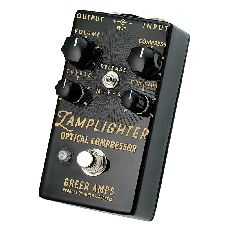 Greer Amps 《グリアー・アンプス》 Lamplighter Optical Compressor