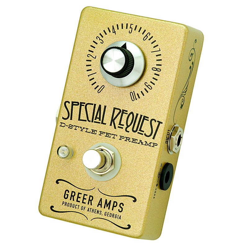 Greer Amps 《グリアー・アンプス》 Special Request