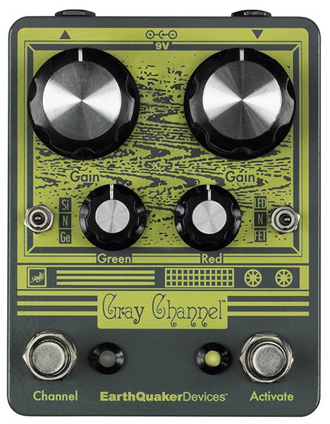 Earth Quaker Devices 《アースクエイカー デバイセス》 Gray Channel Dynamic Dirt Doubler 【即納可能】