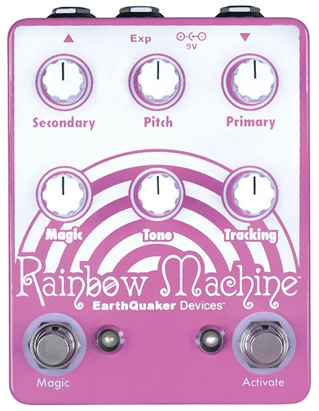 Earth Quaker Devices 《アースクエイカー デバイセス》 Rainbow Machine Polyphonic Pitch Shifter
