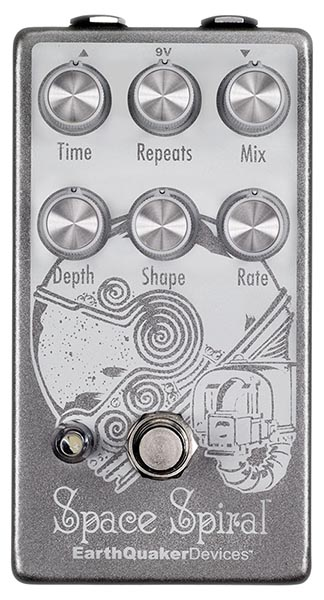 Earth Quaker Devices 《アースクエイカー デバイセス》 Space Spiral Modulated Delay