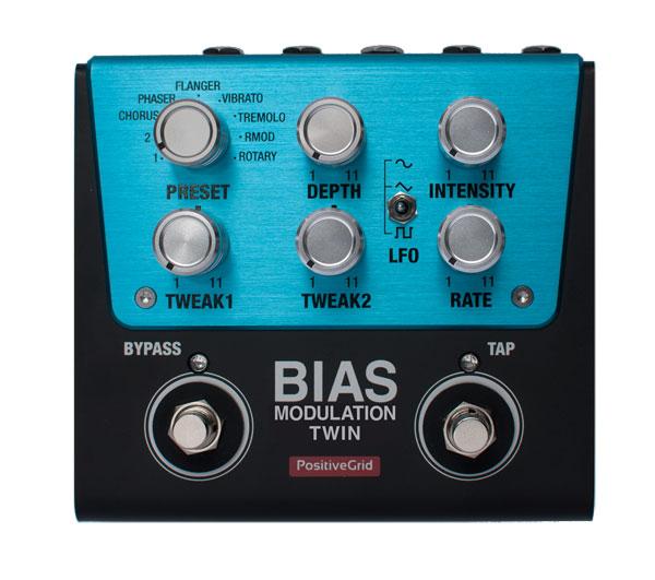 Positive Grid 《ポジティブグリッド》 BIAS Modulation Twin【ef_p5】