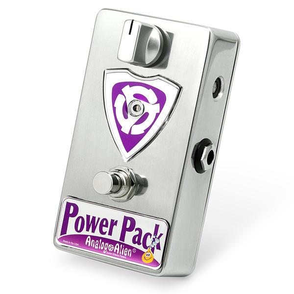 Analog Alien《アナログエイリアン》Power Pack [Clean Boost Pedal]