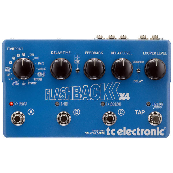 TC Electronic 《TCエレクトロニック》 FLASHBACK X4 DELAY ※国内正規品