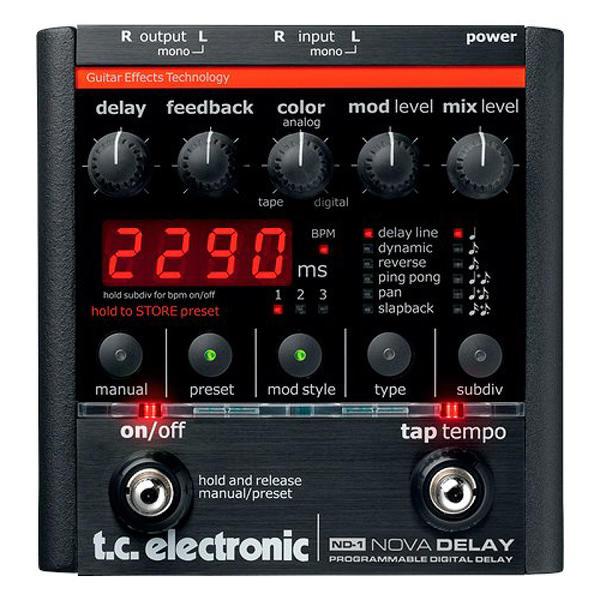 TC Electronic 《TCエレクトロニック》 ND-1 NOVA DELAY ※国内正規品