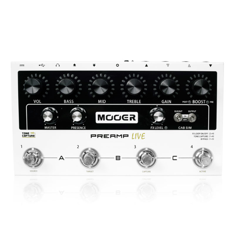 MOOER 《ムーアー》 Preamp Live