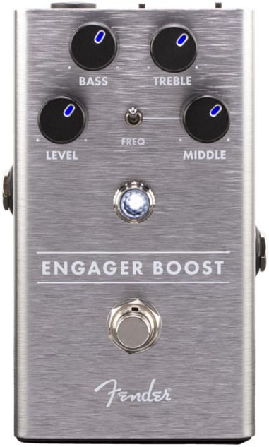 5%OFF クリーンブースター Fender《フェンダー》 Engager 販売期間 限定のお得なタイムセール Boost