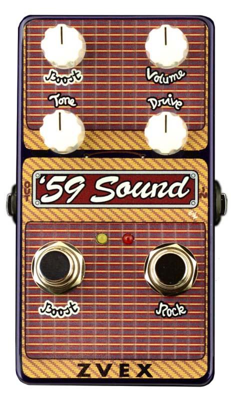 Z-VEX 《ジーベックス》 Vertical '59 Sound ※8/7発売予定