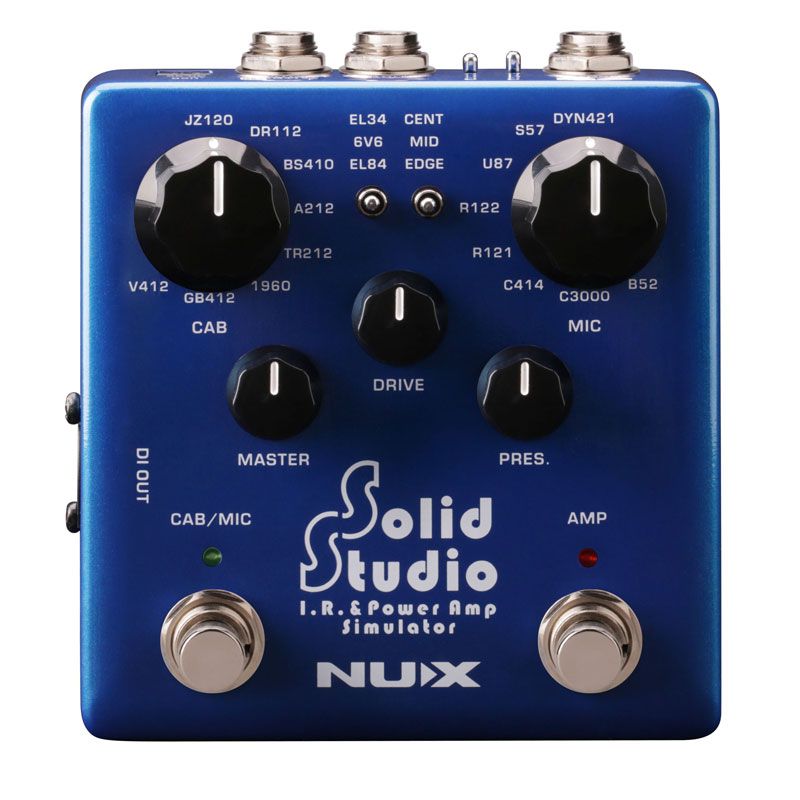 NUX 《ニューエックス》 Solid Studio NSS-5 [Solid Studio IR&パワーアンプシミュレーター]