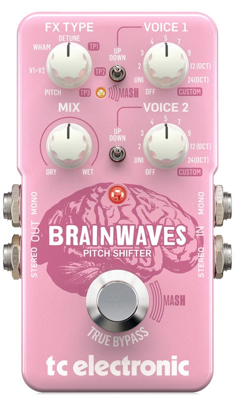 TC Electronic 《TCエレクトロニック》 BRAINWAVES PITCH SHIFTER