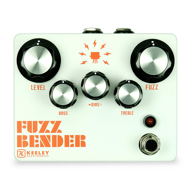 Keeley Electronics 《キーリー》 FUZZ BENDER 3-TRANSISTOR FUZZ WITH BIAS CONTROL 【今がチャンス!円高還元セール!】 【キーリー Tシャツプレゼント!】