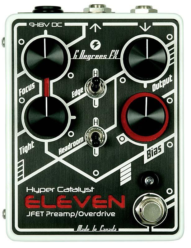 6 Degrees FX Hyper Catalyst ELEVEN JFT Preamp/Overdrive