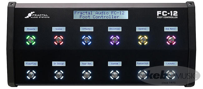 Fractal Audio Systems ( フラクタル ) FC-12 Foot Controller【あす楽対応】