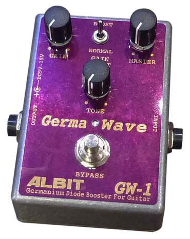 ALBIT 《アルビット》 GW-1 [Germanium Diode Booster For Guitar]