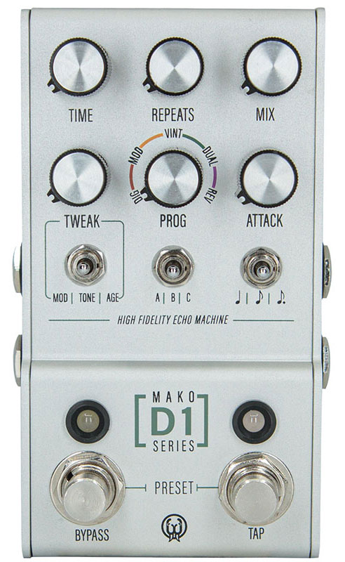 WALRUS AUDIO D1 [High-Fidelity Stereo Delay] 【MAKO Series 】