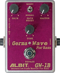 ALBIT 《アルビット》 GW-1B [GERMANIUM DIODE BOOSTER FOR BASS]