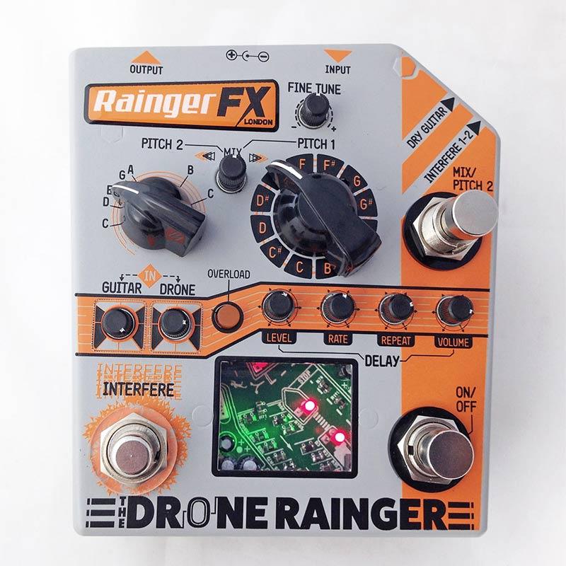 Rainger FX Drone Rainger [Digital Delay + Analog Drone] 【5月下旬以降入荷予定・ご予約受付中】