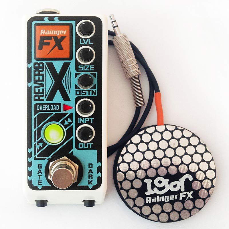 Rainger FX Reverb X [Distorted Digital Reverb with Gate]