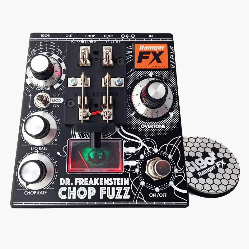 Rainger FX Dr.Freakenstein Chop Fuzz [Monster Fuzz / Extreme Phaser / Tremolo]