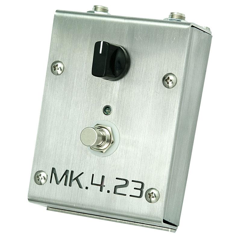 Creation Audio Labs MK.4.23 Clean Boost Standard Brushed Steel Finish 【今がチャンス!円高還元セール!】