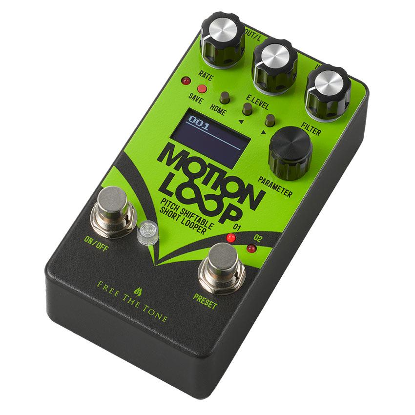エフェクト内蔵ショート ルーパー Free The Tone 《フリーザトーン》 期間限定の激安セール ML-1L MOTION 新品未使用正規品 LOOP LOOPER SHORT