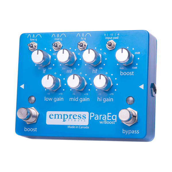 Empress EffectsPara EQ w/Boost