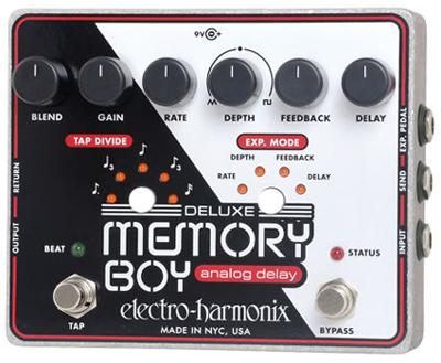Electro Harmonix 《エレクトロ・ハーモニックス》 Deluxe Memory Boy