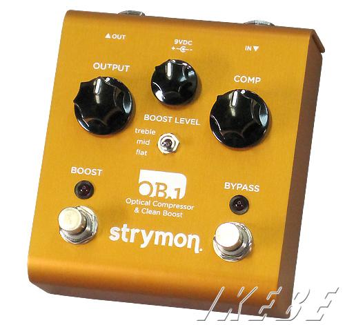 strymon 《ストライモン》 OB.1 【Optical Compressor & Clean Boost】【ef_p5】
