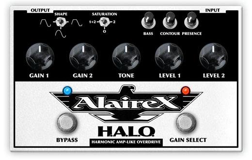 Alairex H.A.L.O [Harmonic Amp Like Overdrive]