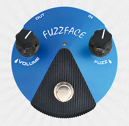 Dunlop 《Jim Dunlop/ジム ダンロップ》 Fuzz Face Mini Silicon [FFM1]