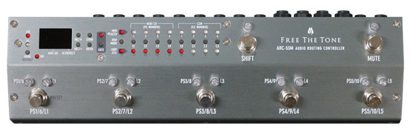 Free The Tone ARC-53M AUDIO ROUTING CONTROLLER【ef_p5】