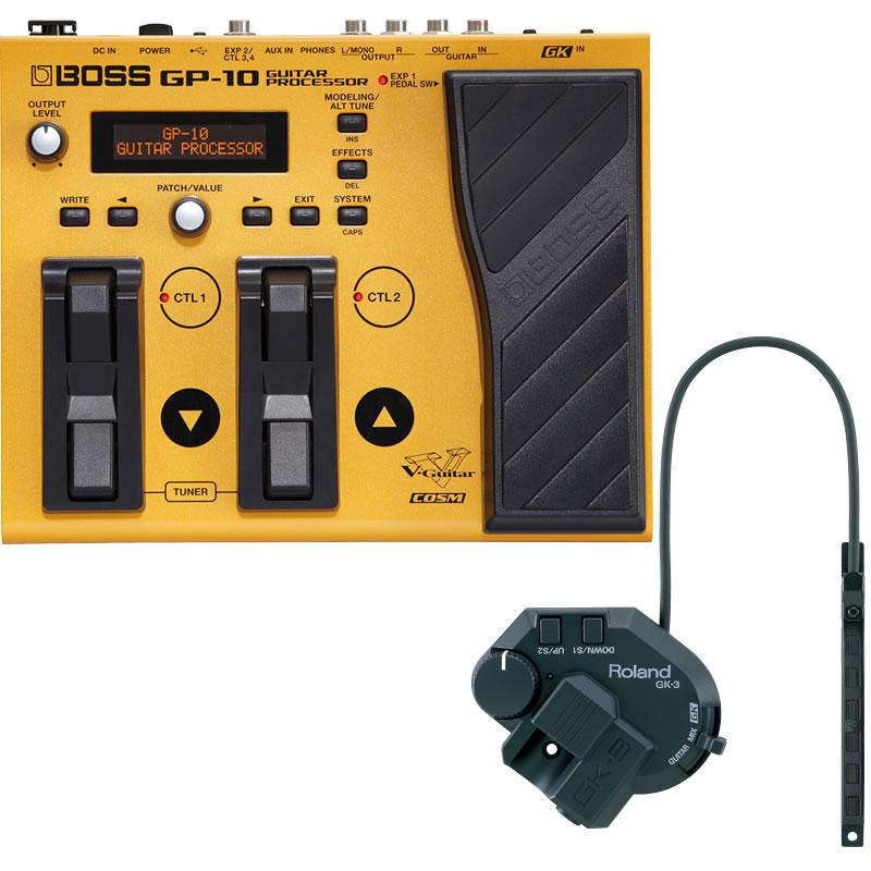 【別倉庫からの配送】 Roland《ローランド》GP-10GK[Guitar GK-3)同梱版 Processor]デバイデッド・ピックアップ(Roland GK-3)同梱版, オカモク:5e08579f --- canoncity.azurewebsites.net