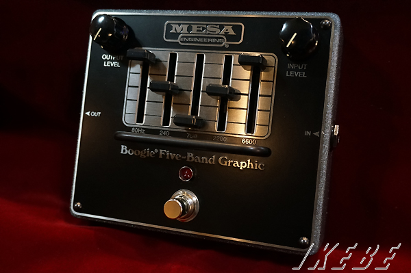 Mesa Boogie《メサ ブギー》FIVE-BAND GRAPFIC