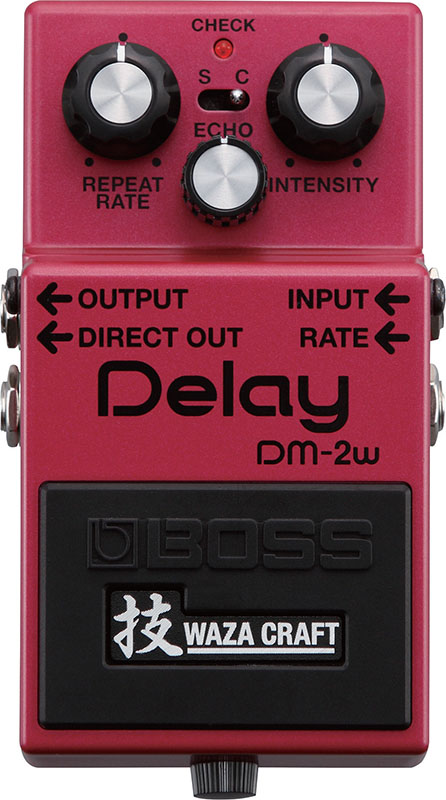BOSS 《ボス》 DM-2W(J) [Delay 技 Waza Craft Series Special Edition]【期間限定 送料無料!】 【ef_p5】【IKEBE×BOSSオリジナルデザインピックケースプレゼント】