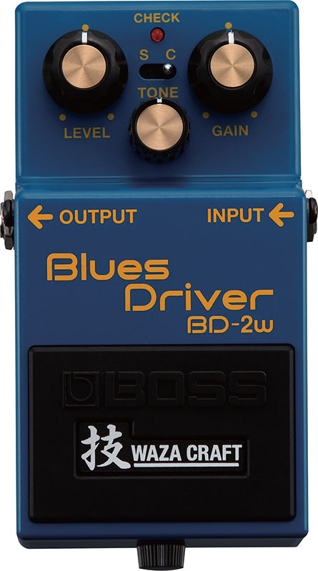 BOSS《ボス》BD-2W [Blues Driver 技 Waza Craft Series Special Edition]【期間限定★送料無料】【IKEBE×BOSSオリジナルデザインピックケースプレゼント】【ef_p5】