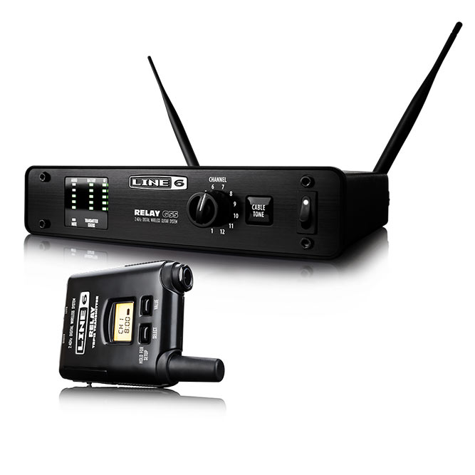 LINE6 《ラインシックス》 Relay G55 [12ch 2.4GHz Wireless System] 【ef_p5】