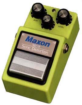 MAXON 《マクソン》 SD9 SONIC DISTORTION