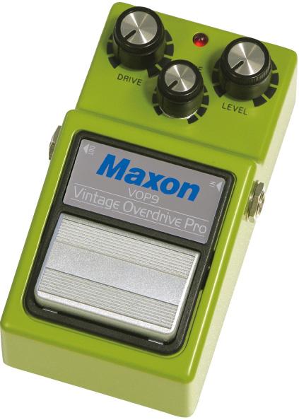 MAXON 《マクソン》 VOP9 [Vintage Overdrive Pro]