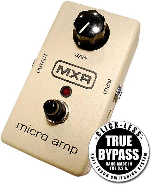 Jack Deville Electronics MXR MICRO AMP with True Bypass Kit 【インストール by C.A.J】