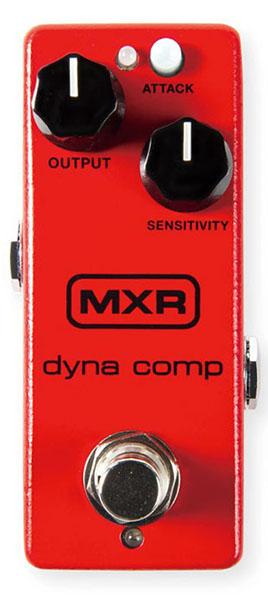 MXR M291 dyna comp mini【MXR純正パッチケーブル20cm L/Lプレゼント】