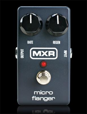 MXR M-152 micro flanger【MXR純正パッチケーブル20cm L/Lプレゼント】