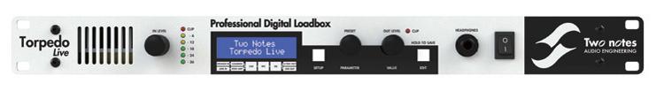 Two Notes TORPEDO Live [Professional Digital Roadbox]